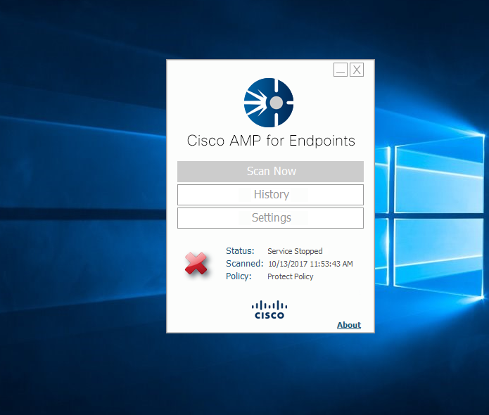 AMPutations : Disabling Cisco AMP for Endpoints before